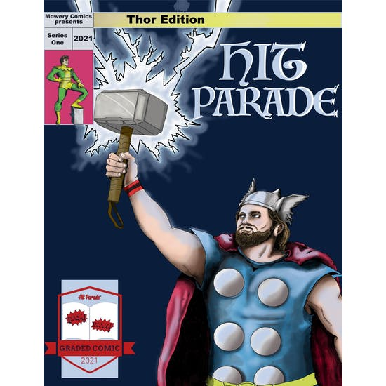 2021 Hit Parade Thor Graded Comic Edition Series 1- 1-Box- DACW Live 5 Spot Break #2