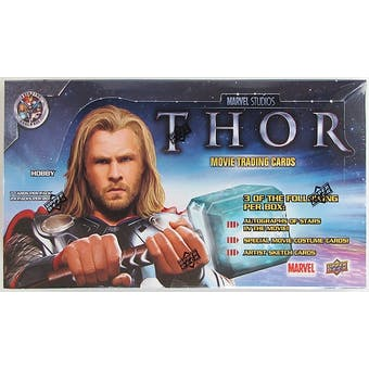 Marvel THOR - The Mighty Avenger Trading Cards Hobby Box (Upper Deck 2011)