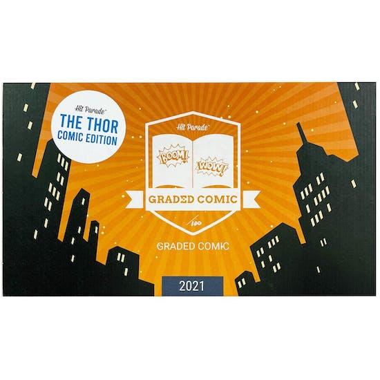 2021 Hit Parade Thor Graded Comic Edition Series 2- 1-Box- DACW Live 5 Spot Break #2