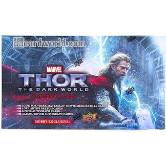 Marvel THOR - The Dark World Movie Trading Cards Hobby Box (Upper Deck 2013)