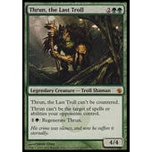 Magic the Gathering Mirrodin Besieged Single Thrun, the Last Troll FOIL - SLIGHT PLAY