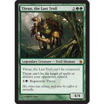 Magic the Gathering Mirrodin Besieged Single Thrun, the Last Troll - NEAR MINT (NM)