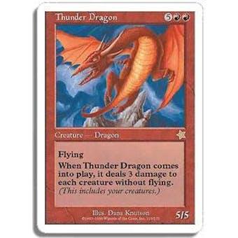 Magic the Gathering Starter Single Thunder Dragon - NEAR MINT (NM)