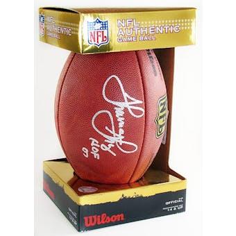 Thurman Thomas Autographed Buffalo Bills Wilson Official NFL Football