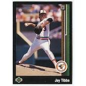 1989 Upper Deck Jay Tibbs Baltimore Orioles #655 Black Border Proof