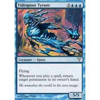 Magic the Gathering Dissension Single Tidespout Tyrant FOIL - NEAR MINT (NM)