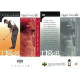 2001 Upper Deck Golf #TJ1 Tiger Woods RC (Tiger Jam 4)