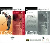2001 Upper Deck Golf #TJ1 Tiger Woods RC (Tiger Jam 4)