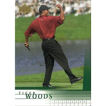 2001 Upper Deck VIP Promos #TW Tiger Woods RC