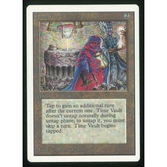 Magic the Gathering Unlimited Single Time Vault - SLIGHT/MODERATE PLAY (SP/MP)