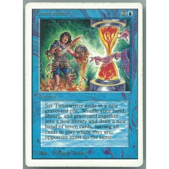 Magic the Gathering Unlimited Single Timetwister - SLIGHT PLAY (SP)