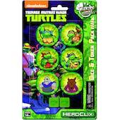 Teenage Mutant Ninja Turtles Heroclix: Dice & Token Pack