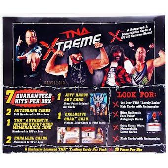 2010 TriStar TNA XTREME Wrestling Hobby Box