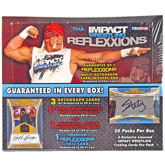 2012 TriStar TNA Reflexxions Wrestling Hobby Box