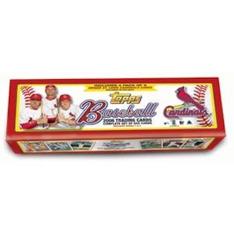 2006 Topps Factory Set Baseball (Box) (St. Louis Cardinals)