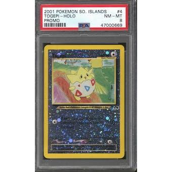 Pokemon Southern Islands Togepi 4/18 PSA 8