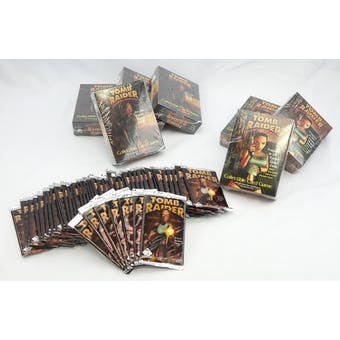 TOMB RAIDER CCG PACK & DECK LOT - 54 TOTAL ITEMS!! (Reed Buy)