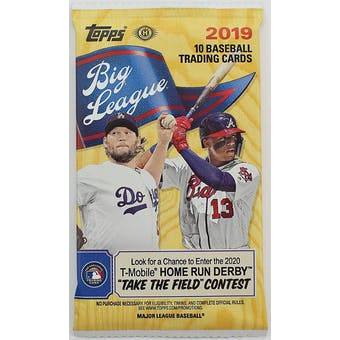 2019 Topps Big League Baseball Hobby Pack