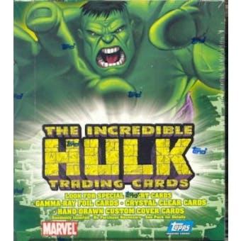 The Incredible Hulk Hobby Box (2003 Topps)