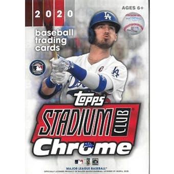 2020 Topps Stadium Club Chrome Baseball Blaster Box