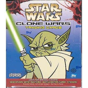 Star Wars Clone Wars Hobby Box (2004 Topps)