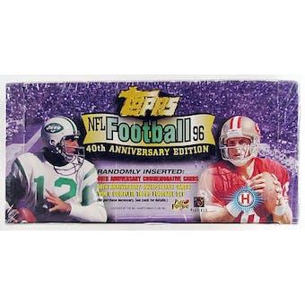 1996 Topps Football Jumbo Box