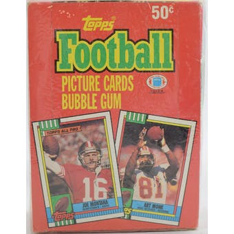 1990 Topps Football Wax Box (Factory Sealed) (Reed Buy)