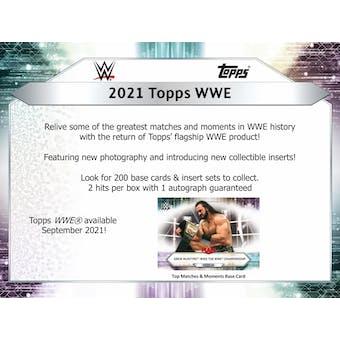 2021 Topps WWE Wrestling Hobby Box (Presell)