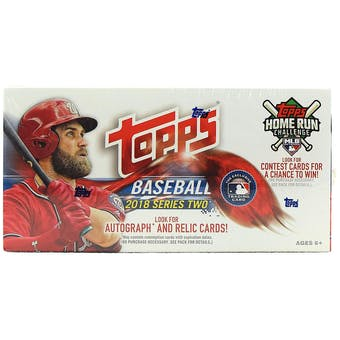 2018 Topps Series 2 Baseball 24-Pack Box