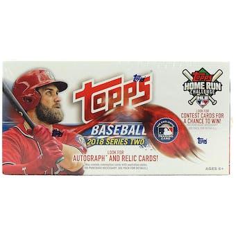 2018 Topps Series 2 Baseball 24-Pack Box