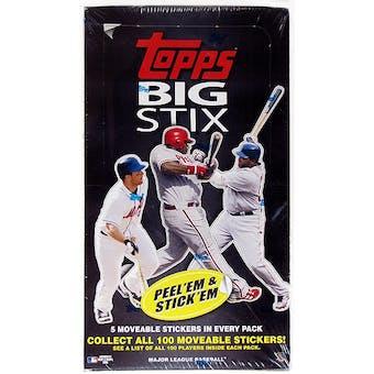 2008 Topps Big Stix Baseball Box
