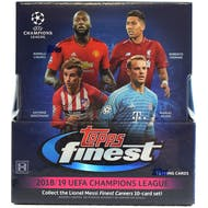 2018/19 Topps Finest UEFA Champions League Soccer Hobby Box
