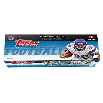 2010 Topps Factory Set Football Hobby (Box)