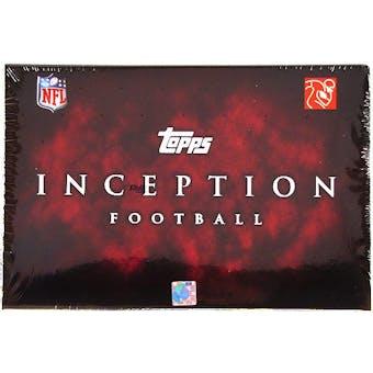 2011 Topps Inception Football Hobby Box