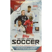 2019 Topps MLS Major League Soccer Hobby Box