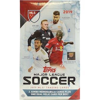 2019 Topps MLS Major League Soccer Hobby Box