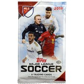 2019 Topps MLS Major League Soccer Hobby Pack