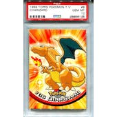 1999 Topps Pokemon TV Charizard #6 - PSA 10 GEM MINT