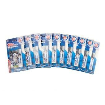 2020 Topps Baseball Chicago Cubs Team Set (Lot of 10)