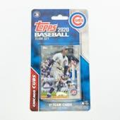 2020 Topps Baseball Chicago Cubs Team Set