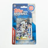 2020 Topps Baseball Chicago Cubs Team Set