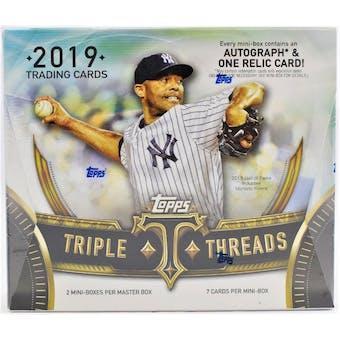 2019 Topps Triple Threads Baseball 5-Box- DACW Live 30 Spot Random Team Break #1