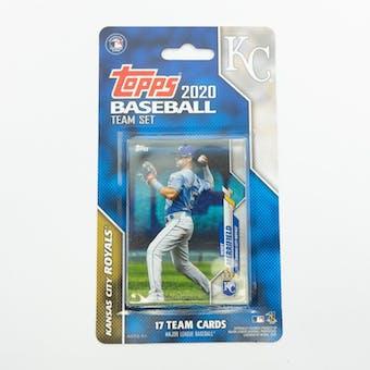 2020 Topps Baseball Kansas City Royals Team Set