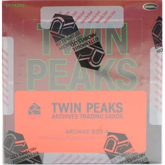 Twin Peaks Archives Trading Cards Archive Box (Rittenhouse 2019)