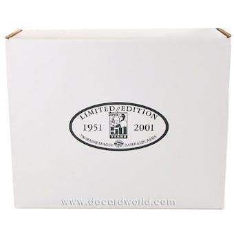 2001 Topps Baseball Limited Edition HTA Tiffany Set