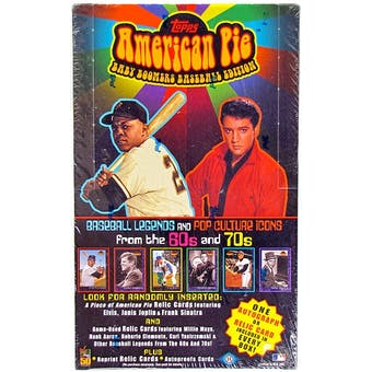 2001 Topps American Pie Baseball Hobby Box
