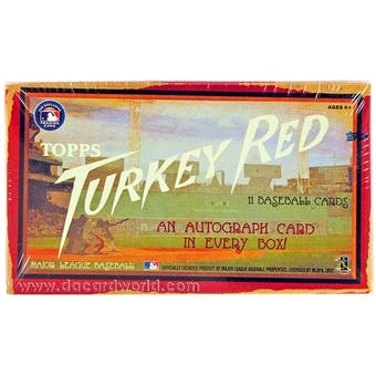 2013 Topps Turkey Red Baseball Box