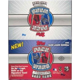 2005 Topps Pack Wars Baseball Hobby Box