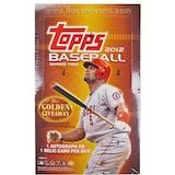 2012 Topps Series 2 Baseball Hobby Box