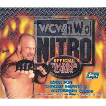 WCW/NWO Nitro Wrestling Hobby Box (1999 Topps)
